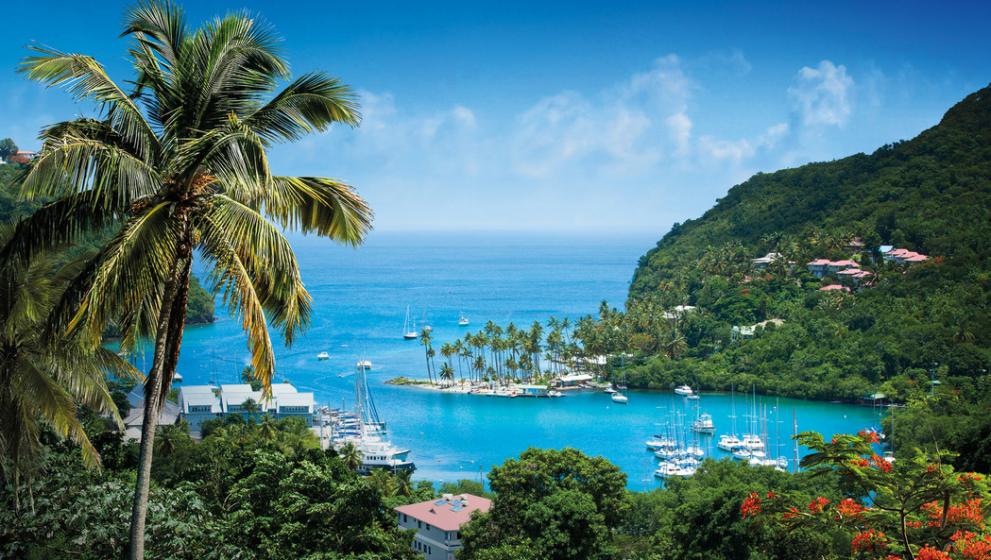 Olahraga Air yang Menyenangkan di St Lucia